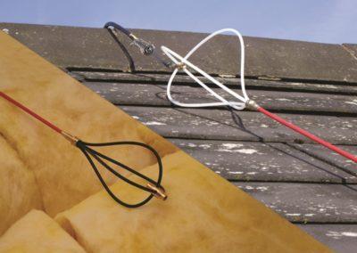 Kabelbinders / Glasfiber kabeltrek staven