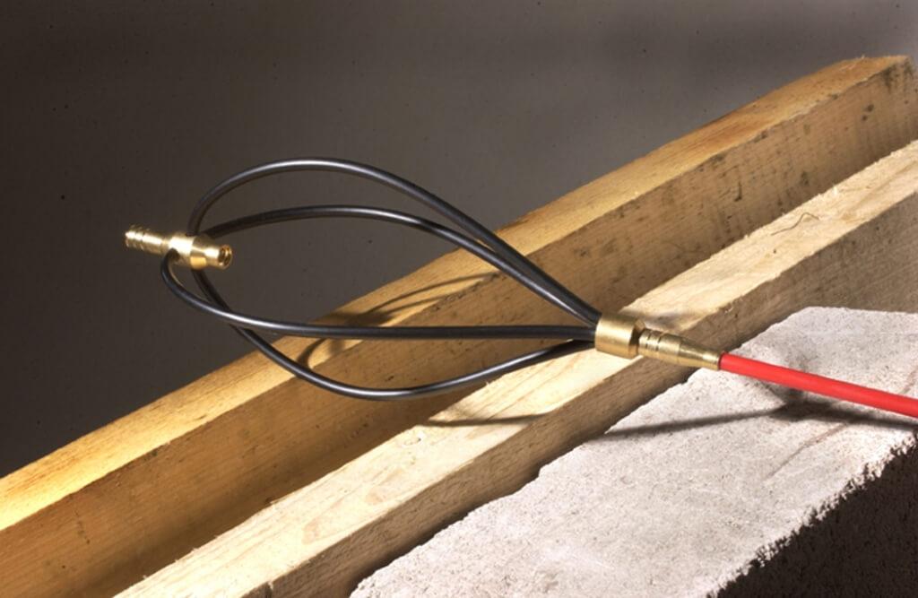 R/ésistante aux Temp/ératures jusqu/à 550/°C. 8 mm Gris Fonc/é avec Adh/ésif de Montage Thermique 10 m STEIGNER Corde d/Étanch/éit/é en Fibre de Verre SKD02-8